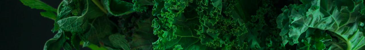 Leafy greens are full of calcium